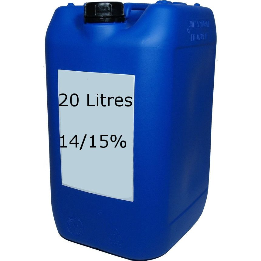 Sodium hypochlorite liquid chlorine 14 15 20 litres - How many litres in a swimming pool ...