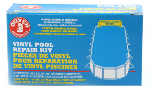 Swimming Pool Liner Vinyl Pool Repair Kit 4oz