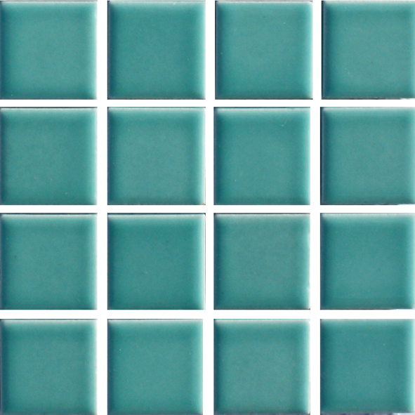 Waxman Cg 340 Mint Ceramic Pool Tiles 10 Sheet Pack