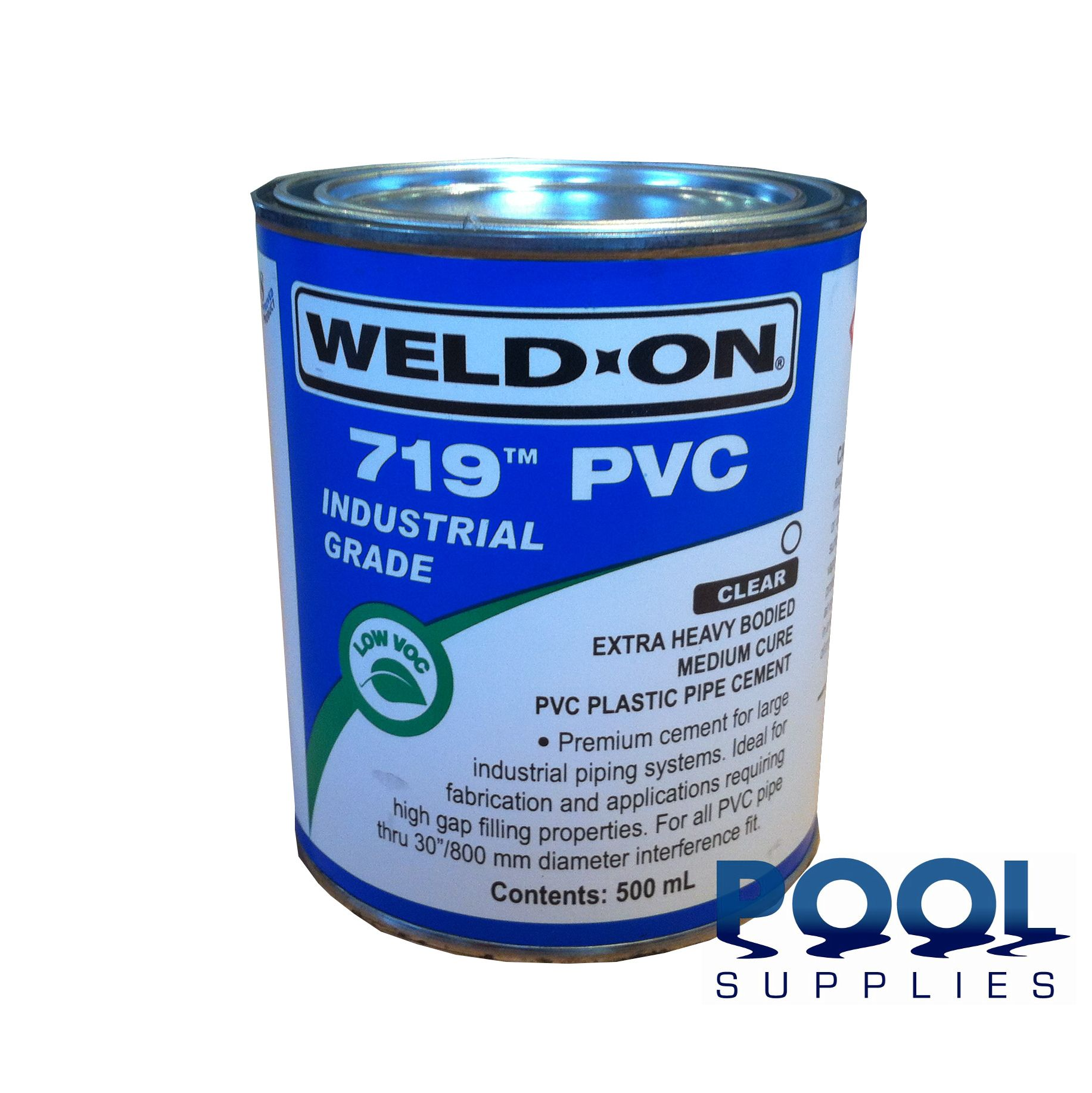 Weld On 719 Pvc Cement 500ml Swimming Pool Supplies
