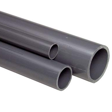 "0.75"" Grey PVC Pipe - 1 metre length"