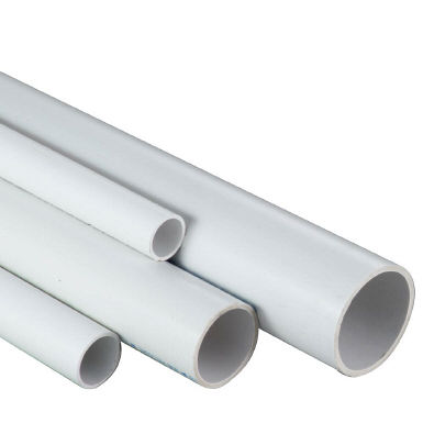"1.5"" White ABS Class C Pipe - 1 metre length"