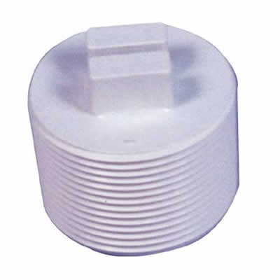 1 5 Quot White Abs Threaded Plug Swimming Pool Supplies