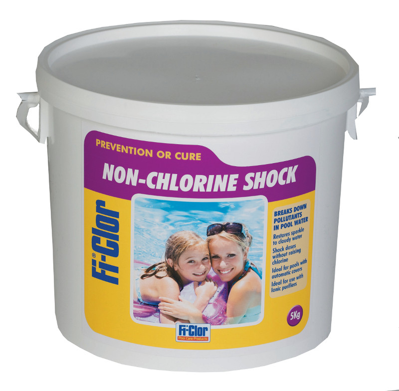 Pool Heat Pump >> Fi-Clor Non-Chlorine Shock 5kg - Pool Supplies