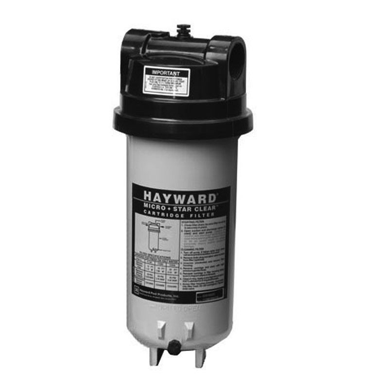 Hayward Filter 25 Sq Ft Cartridge Filter In Line