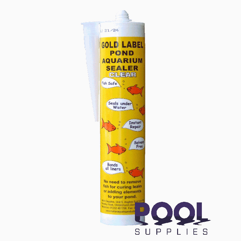 Huttons Gold Label Underwater Sealant 290ml Tube Clear