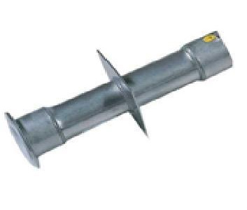 "Stainless Steel Wall Conduit 240mm long - 1.5"" Thread"