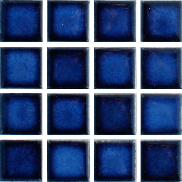 Waxman M 1451 Sapphire Ceramic Pool Tiles 10 Sheet