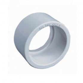 "White ABS White Plain Reducer 2"" to 1.5"