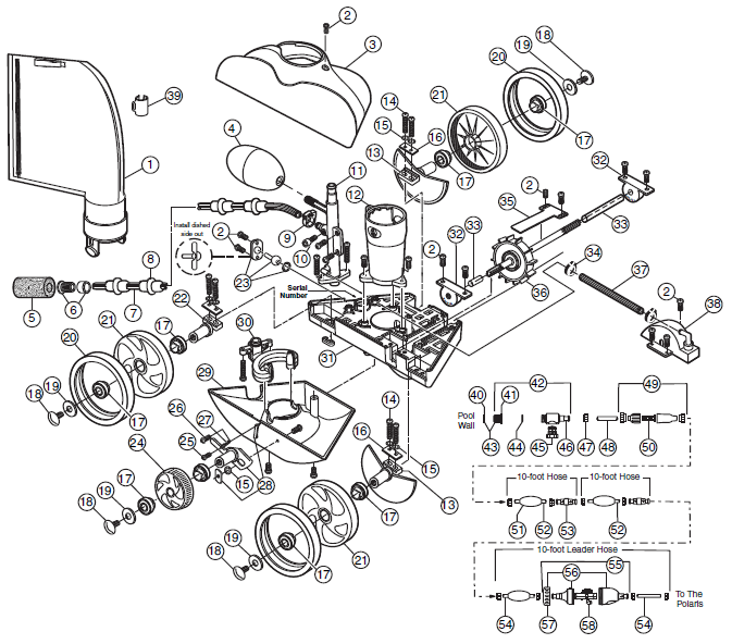 Polaris Pump Parts Diagram Trusted Wiring Diagram